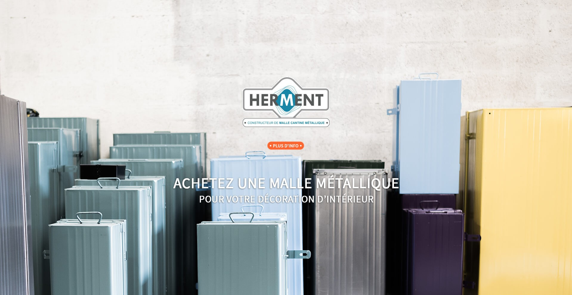 établissements herment, fabricant de malles métalliques sur mesure